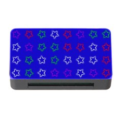 Spray Stars Pattern E Memory Card Reader With Cf