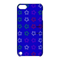 Spray Stars Pattern E Apple Ipod Touch 5 Hardshell Case With Stand