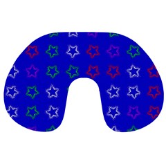 Spray Stars Pattern E Travel Neck Pillows