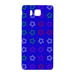 Spray Stars Pattern E Samsung Galaxy Alpha Hardshell Back Case