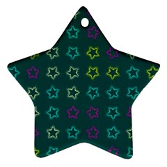 Spray Stars Pattern F Star Ornament (two Sides)