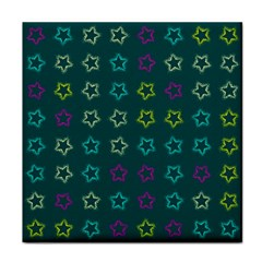 Spray Stars Pattern F Face Towel