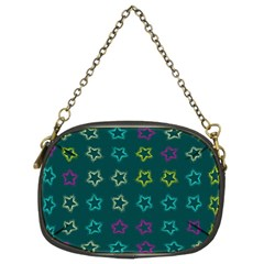 Spray Stars Pattern F Chain Purses (two Sides)