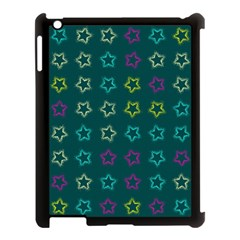 Spray Stars Pattern F Apple Ipad 3/4 Case (black)