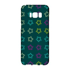 Spray Stars Pattern F Samsung Galaxy S8 Hardshell Case