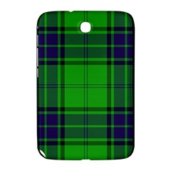 Green And Blue Plaid Samsung Galaxy Note 8 0 N5100 Hardshell Case