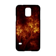 Artsy Brown Trees Samsung Galaxy S5 Hardshell Case