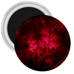 Artsy Red Trees 3  Magnets