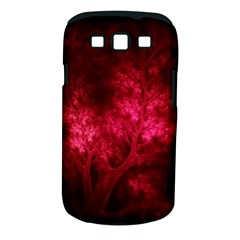 Artsy Red Trees Samsung Galaxy S Iii Classic Hardshell Case (pc+silicone)