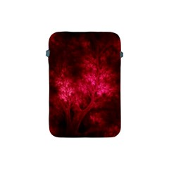 Artsy Red Trees Apple Ipad Mini Protective Soft Cases
