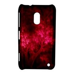 Artsy Red Trees Nokia Lumia 620