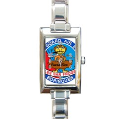 Coast Guard Air Station Borinquen Puerto Rico Rectangle Italian Charm Watch