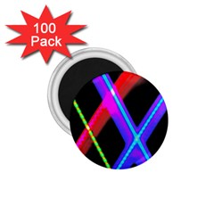 Xmas Light Paintings 1 75  Magnets (100 Pack)
