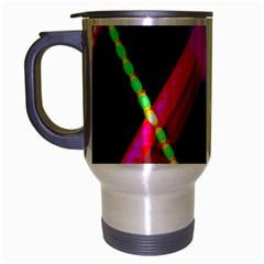 Xmas Light Paintings Travel Mug (silver Gray)
