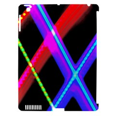 Xmas Light Paintings Apple Ipad 3/4 Hardshell Case (compatible With Smart Cover)