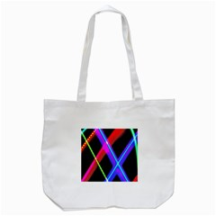Xmas Light Paintings Tote Bag (white)