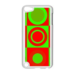Redg Reen Christmas Background Apple Ipod Touch 5 Case (white)