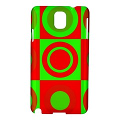 Redg Reen Christmas Background Samsung Galaxy Note 3 N9005 Hardshell Case
