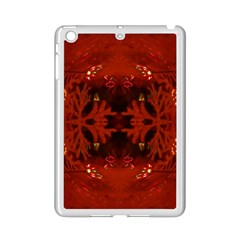 Red Abstract Ipad Mini 2 Enamel Coated Cases
