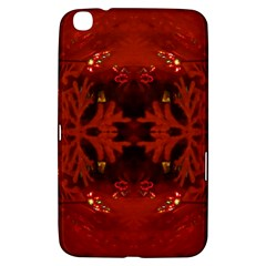 Red Abstract Samsung Galaxy Tab 3 (8 ) T3100 Hardshell Case