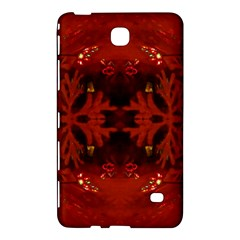 Red Abstract Samsung Galaxy Tab 4 (7 ) Hardshell Case