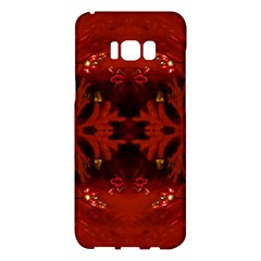 Red Abstract Samsung Galaxy S8 Plus Hardshell Case
