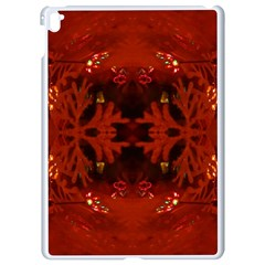 Red Abstract Apple Ipad Pro 9 7   White Seamless Case