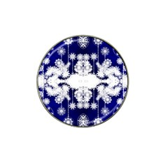 The Effect Of Light  Very Vivid Colours  Fragment Frame Pattern Hat Clip Ball Marker (4 Pack)