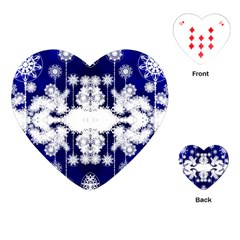 The Effect Of Light  Very Vivid Colours  Fragment Frame Pattern Playing Cards (heart)