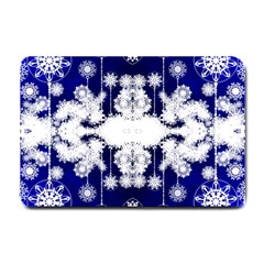 The Effect Of Light  Very Vivid Colours  Fragment Frame Pattern Small Doormat