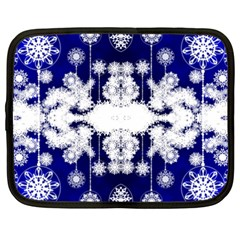 The Effect Of Light  Very Vivid Colours  Fragment Frame Pattern Netbook Case (xxl)