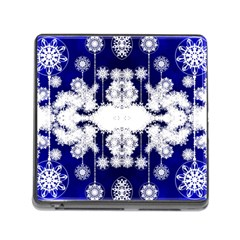 The Effect Of Light  Very Vivid Colours  Fragment Frame Pattern Memory Card Reader (square)