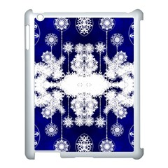 The Effect Of Light  Very Vivid Colours  Fragment Frame Pattern Apple Ipad 3/4 Case (white)