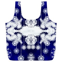 The Effect Of Light  Very Vivid Colours  Fragment Frame Pattern Full Print Recycle Bags (l)