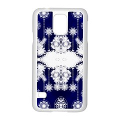 The Effect Of Light  Very Vivid Colours  Fragment Frame Pattern Samsung Galaxy S5 Case (white)