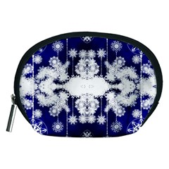 The Effect Of Light  Very Vivid Colours  Fragment Frame Pattern Accessory Pouches (medium)