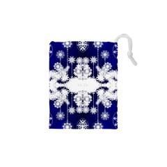 The Effect Of Light  Very Vivid Colours  Fragment Frame Pattern Drawstring Pouches (xs)