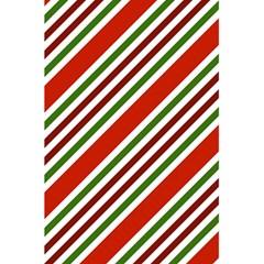 Christmas Color Stripes 5 5  X 8 5  Notebooks