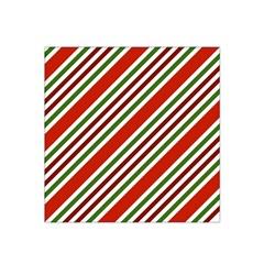 Christmas Color Stripes Satin Bandana Scarf