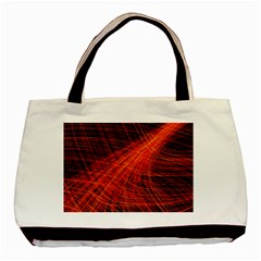 A Christmas Light Painting Basic Tote Bag (two Sides)