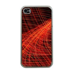 A Christmas Light Painting Apple Iphone 4 Case (clear)