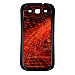 A Christmas Light Painting Samsung Galaxy S3 Back Case (black)