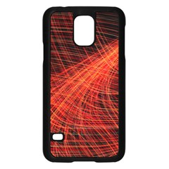 A Christmas Light Painting Samsung Galaxy S5 Case (black)