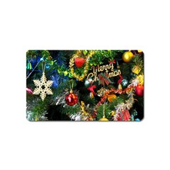 Decoration Christmas Celebration Gold Magnet (name Card)
