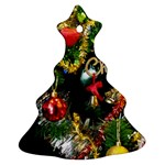 Decoration Christmas Celebration Gold Christmas Tree Ornament (Two Sides) Front
