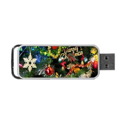 Decoration Christmas Celebration Gold Portable Usb Flash (one Side)