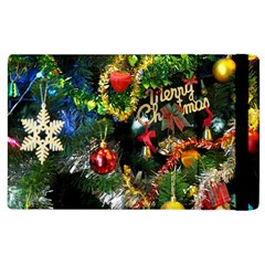 Decoration Christmas Celebration Gold Apple Ipad 2 Flip Case