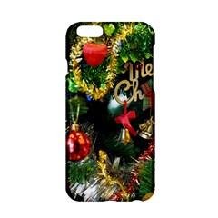 Decoration Christmas Celebration Gold Apple Iphone 6/6s Hardshell Case