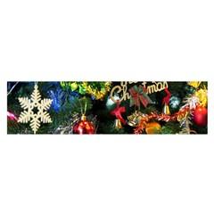 Decoration Christmas Celebration Gold Satin Scarf (oblong)