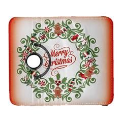Merry Christmas Wreath Galaxy S3 (flip/folio)
